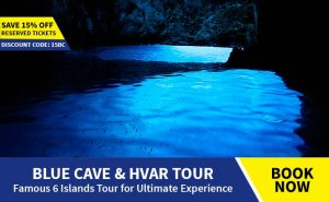 Blue cave and Hvar tour from Omis