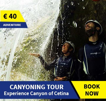 Canyoning tour Omis