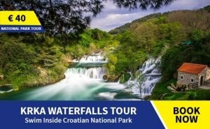 Krka and Trogir tour from Omis