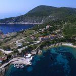 small harbor on Bisevo island