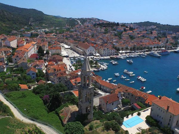 Beautiful Hvar town, island Hvar