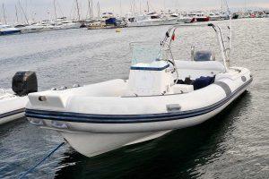 Senr a RIB speedboat in Omis