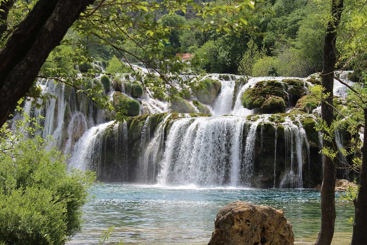 warerfalls on Krka river