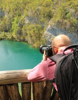 Plitvice-panoramicphotoofthelakes