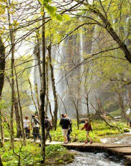 Plitvice-walkbythewaterfalls