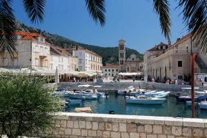View of Hvar's main square
