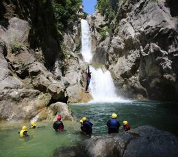 GreatGubavicawaterfalljumpCanyoningTourOmis(optional)