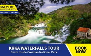Krka tour from Omis