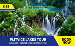 Plitvice tour from Omis