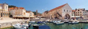 Visit Hvar town on Blue Cave tour from Omis