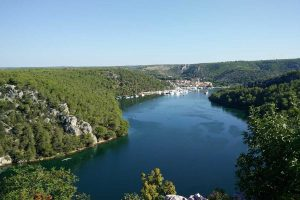 Skradin and Krka river canyon