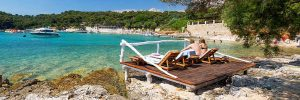 Relax in Palmizana, Blue cave tour from Omis