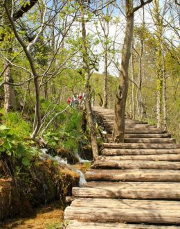Plitvice-Lakes-wooden-trail