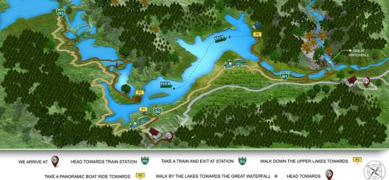 plitvice-lakes-tour-map-infographic-tour from omis