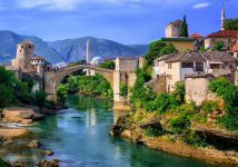 Mostar bridge nad river-tour from Omis