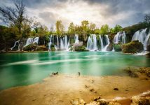 beautiful Kravice waterfalls-tour from Omis