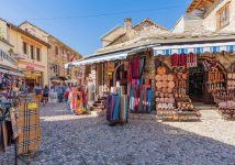 open street market Mostar-tour from Omis