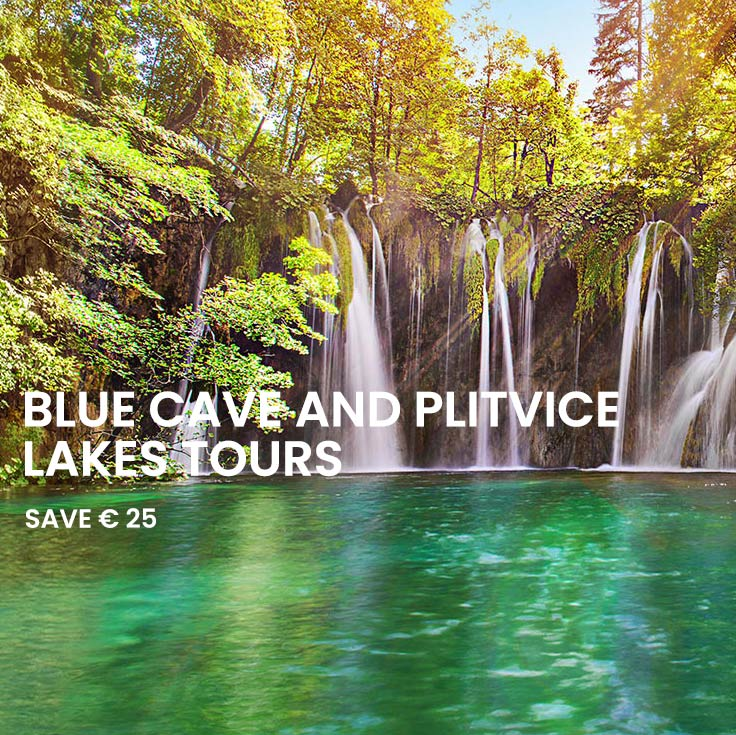 Combo Saver: Blue cave and Plitvice lakes tour