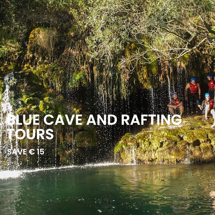 Combo Saver: Blue cave and Rafting tour