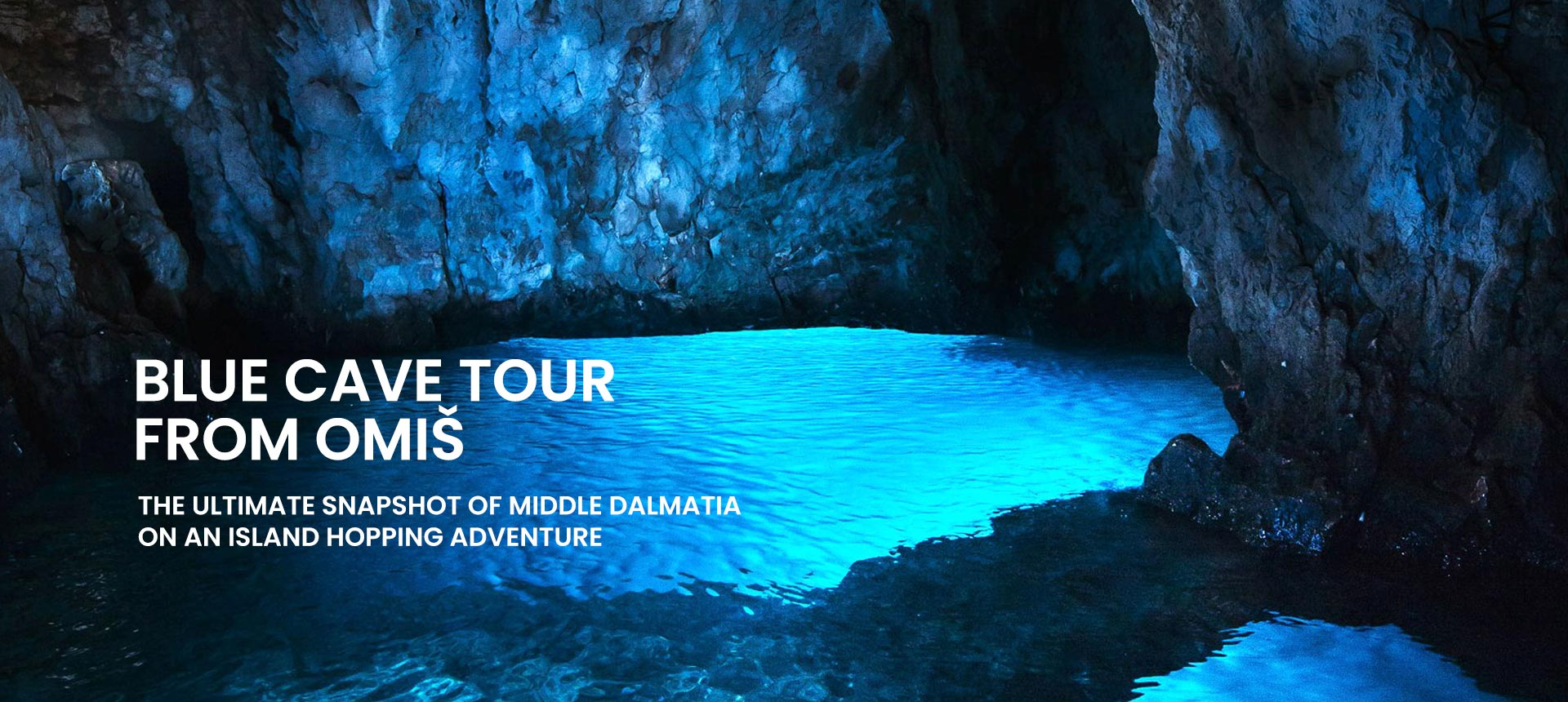 Blue cave tour from Omiš