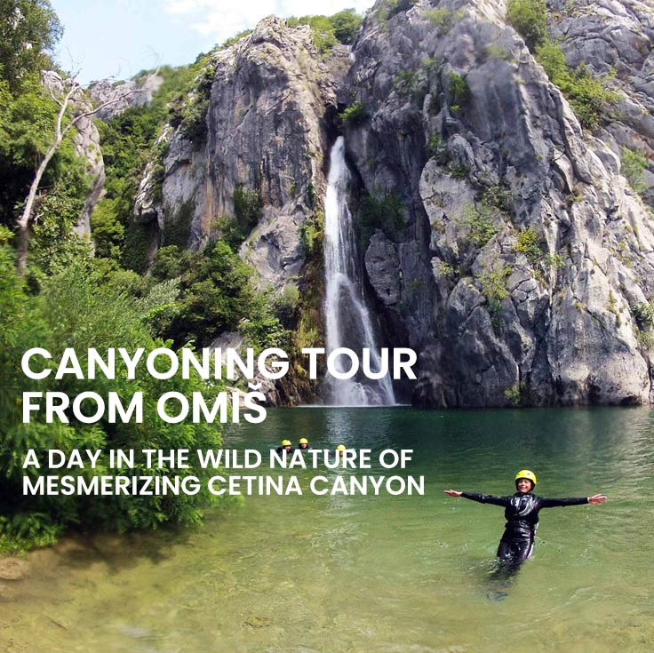 Canyoning tour from Omiš