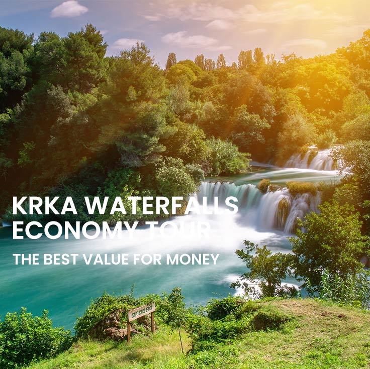 Krka Economy tour from Omiš