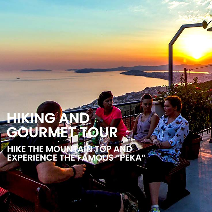 Hiking and gourmet tour from Omiš