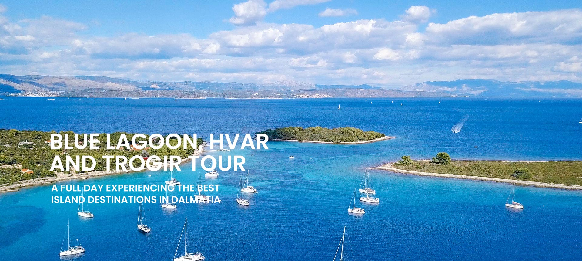 island hopping tour from Omiš