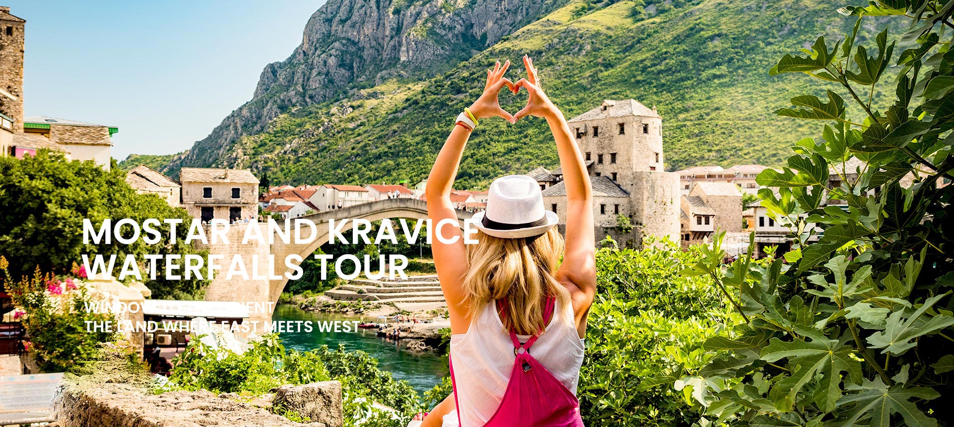 Mostar and Kravice waterfalls tour from Omiš