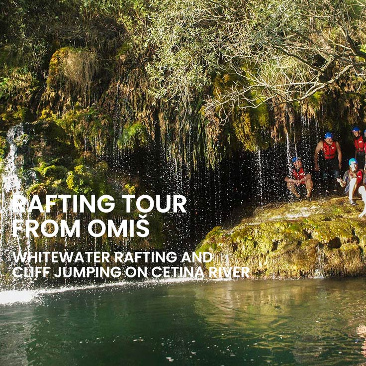 Rafting tour from Omiš